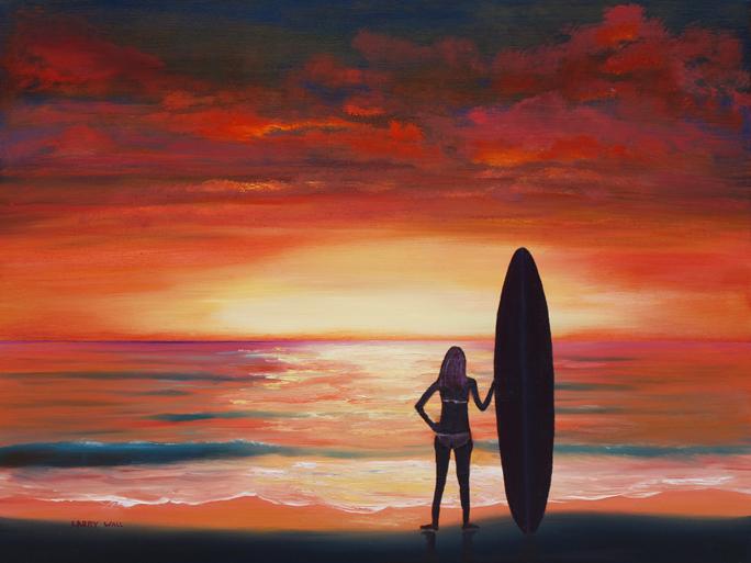 Easy Beach Sunset Paintings SUNSET BEACHEasy Beach Sunset Paintings