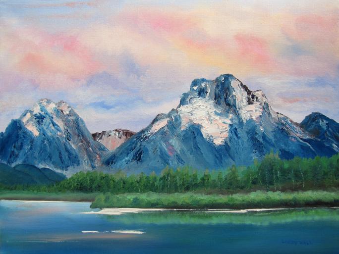 Mountain Lake Paint Color