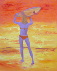 SURFS UP Original Oil - 16