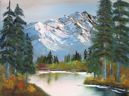 Painting With Oil Paints Tutorial