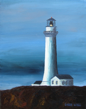 OREGON LIGHTHOUSE # 1 Original Oil